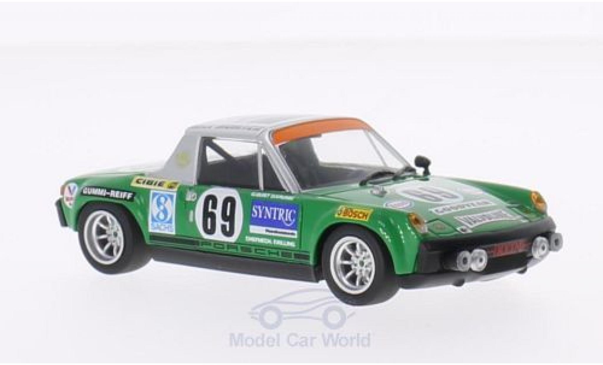 Porsche 914 1/43 Minichamps /6 No.69 Max Moritz Racing 24h Le Mans 1971 G.Quist/D.Krumm