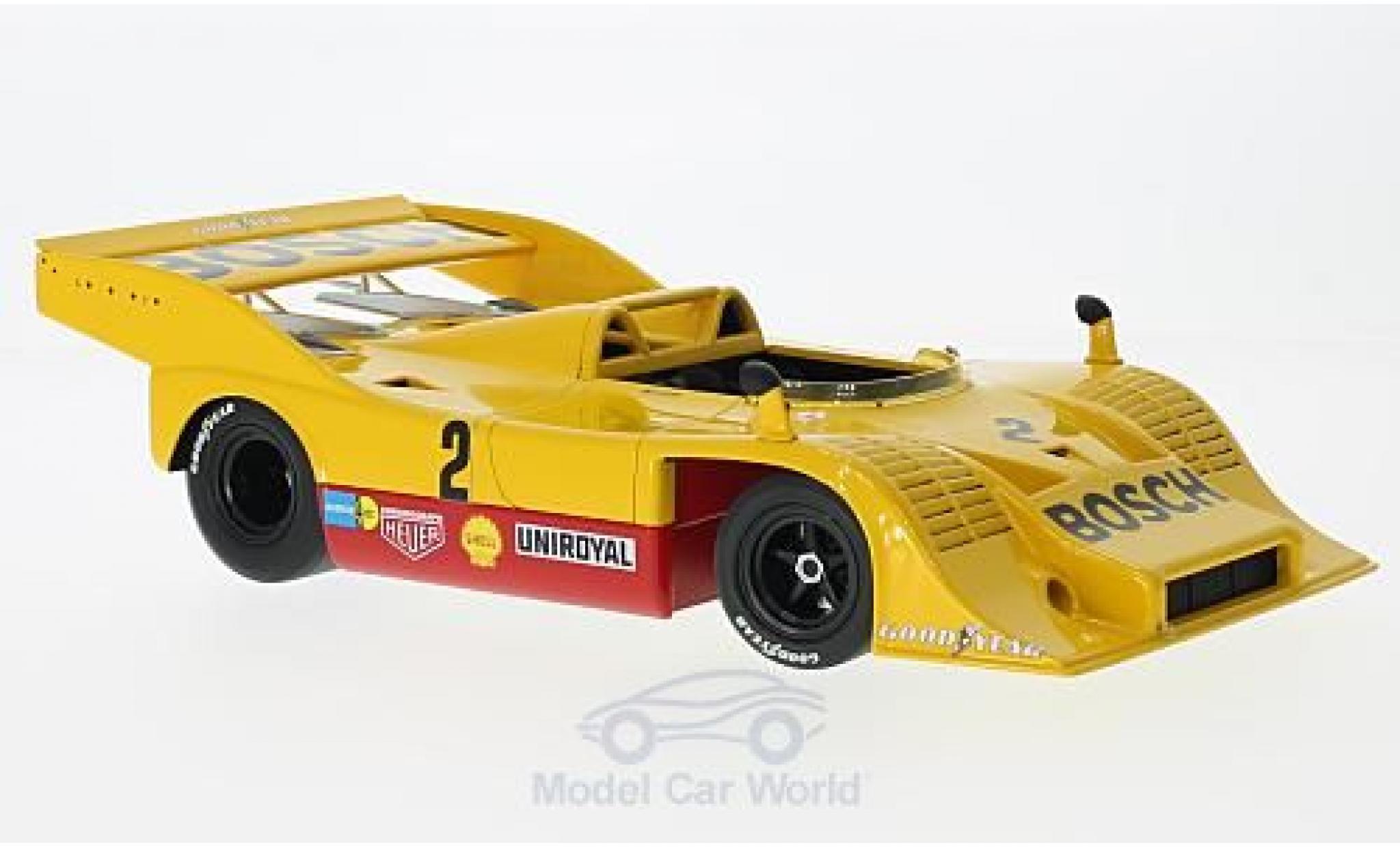 Porsche 917 K 1/18 Minichamps /10 No.2 Bosch Kauhsen Team Bosch Interserie Eifelrennen 1973 W.Kauhsen