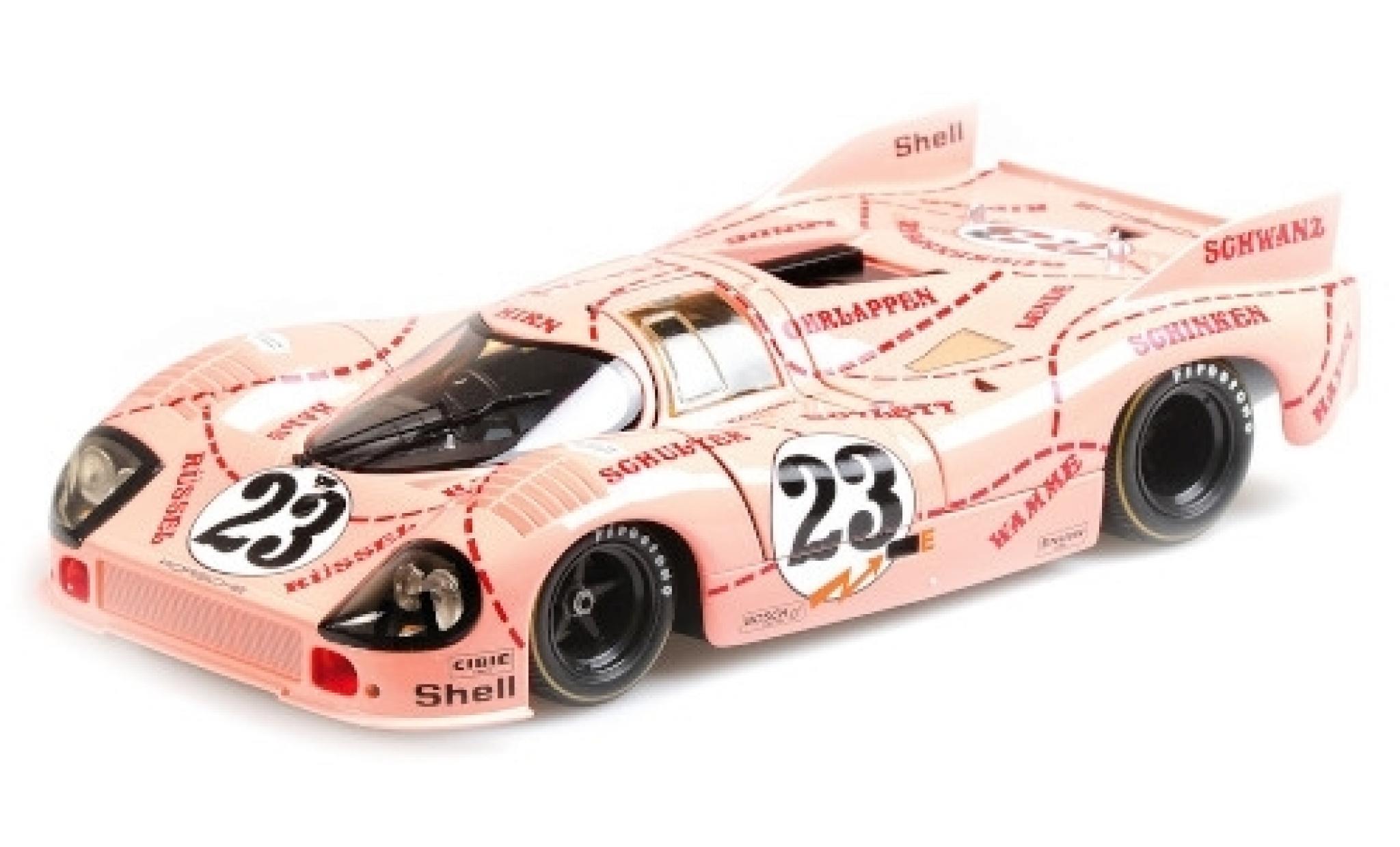 Porsche 917 1/18 Minichamps /20 No.23 Pink Pig 24h Le Mans 1971 W.Kauhsen/R.Joest
