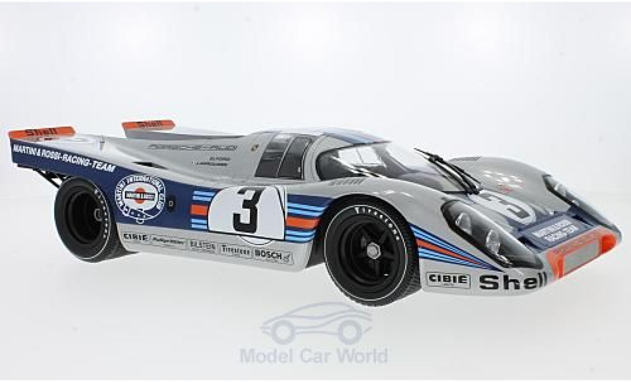 Porsche 917 K 1/12 Minichamps K No.3 Martini & Rossi Racing Martini 12h Sebring 1971 V.Elford/G.Larrousse