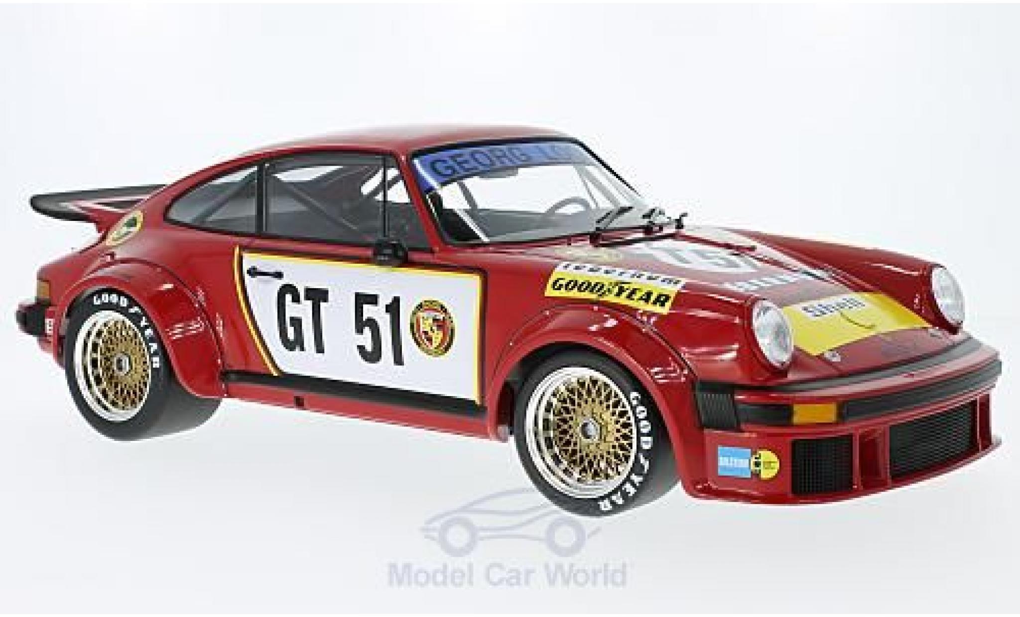 Porsche 934 1/12 Minichamps No.51 Gelo-Tebernum Racing 300 Km Nürburgring 1976 T.Hezemans