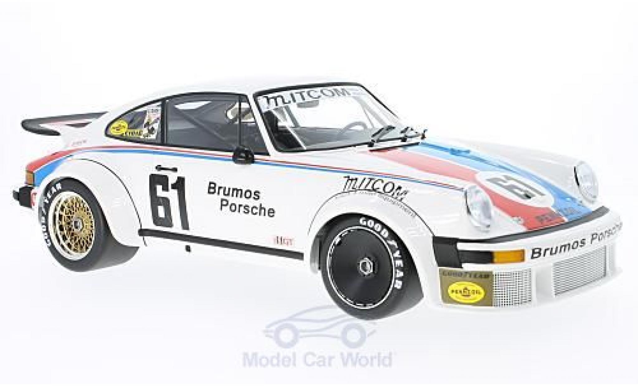 Porsche 934 1/12 Minichamps No.61 Brumos Racing 24h Daytona 1977 P.Gregg/J.Busby