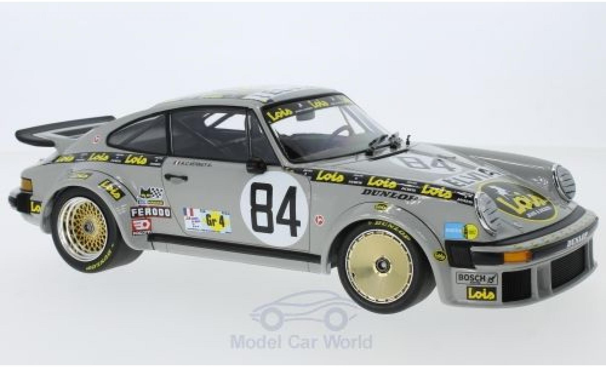 Porsche 934 1/18 Minichamps No.84 Anne-Charlotte Verney Team Lois 24h Le Mans 1979 A.C.Verney/P.Bardinon/R.Metge