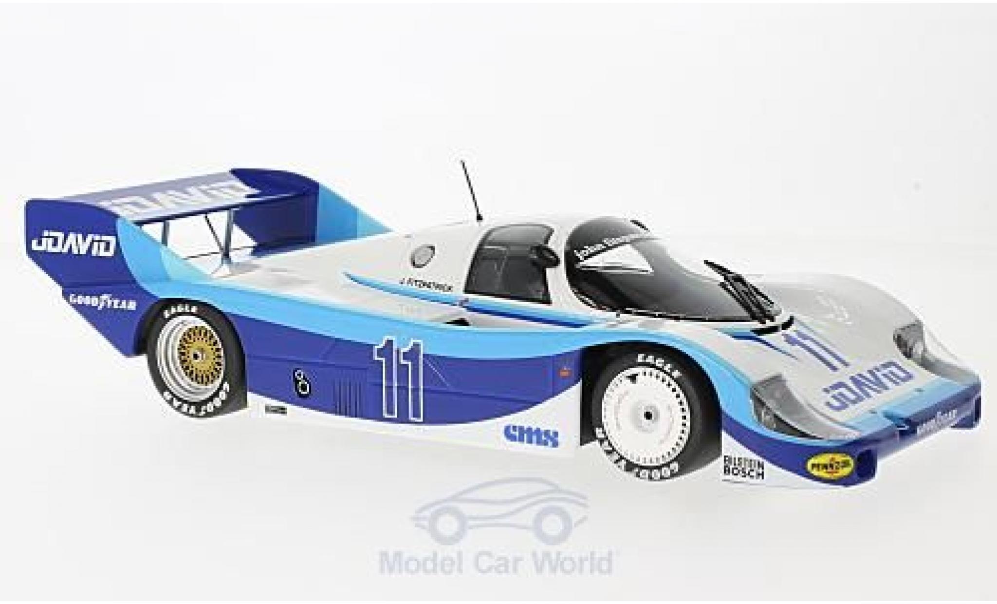 Porsche 956 1983 1/18 Minichamps K No.11 John Fitzpatrick Racing JDavid DRM Bergischer Löwe Zolder 1983 J.Fitzpatrick