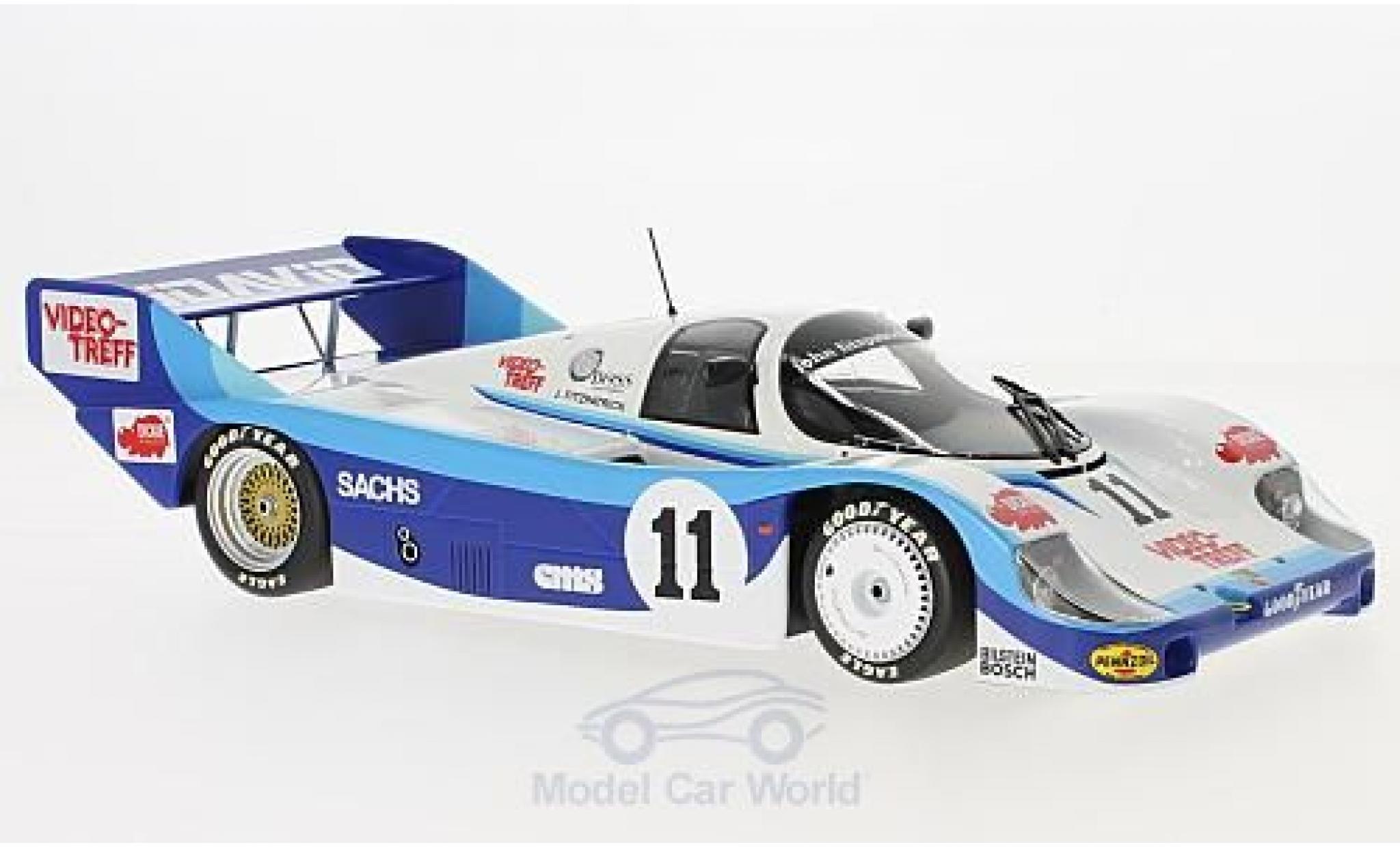 Porsche 956 1983 1/18 Minichamps K No.11 John Fitzpatrick Racing 200 Meilen von Nürnberg 1983 D.Hobbs
