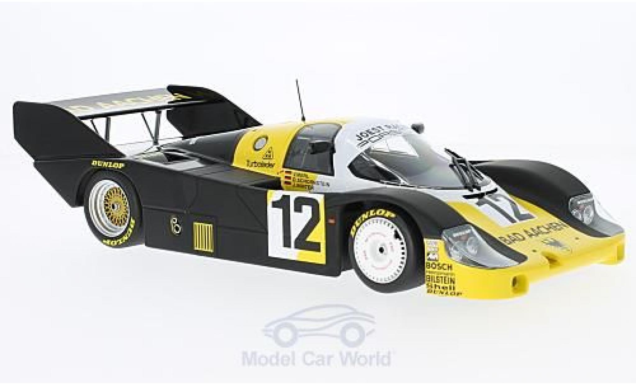 Porsche 956 1984 1/18 Minichamps K No.12 Schornstein Racing Team Bad Aachen 1000km Monza 1984 V.Merl/D.Schornstein