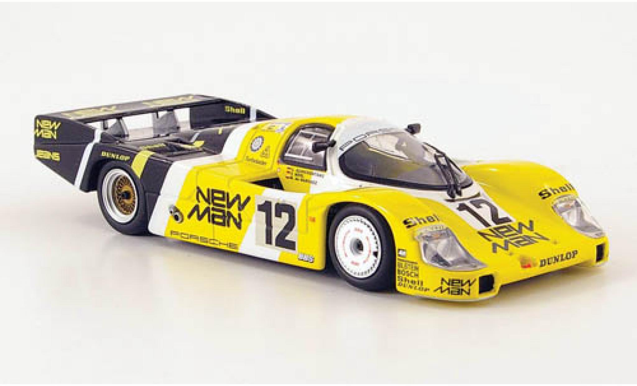 Porsche 956 1983 1/43 Minichamps L No.12 Joest Racing New Man 24h Le Mans V.Merl/C.Schickentanz