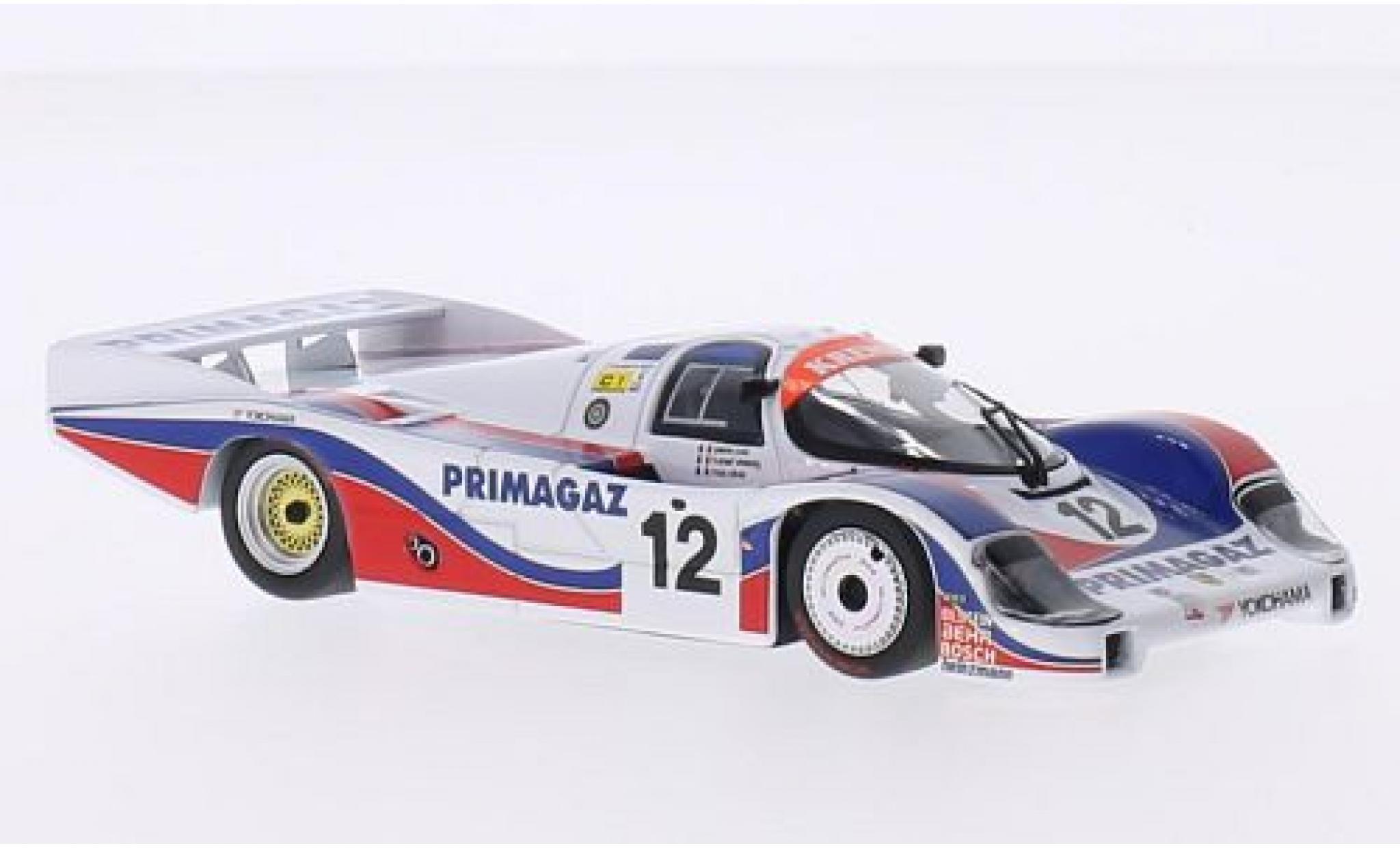 Porsche 956 1986 1/43 Minichamps L No.12 Kremer Racing Primagaz 24h Le Mans P.Yver/M.Cohen-Olivar/H.Striebig
