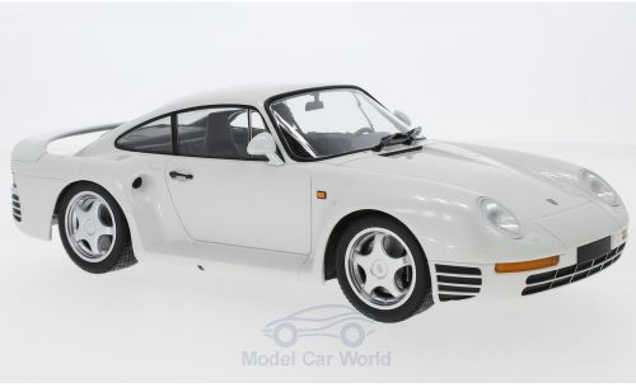 Porsche 959 1987 1/18 Minichamps metallic-blanche 1987