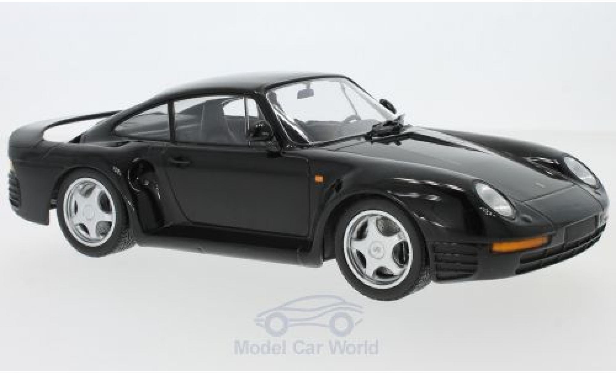 Porsche 959 1987 1/18 Minichamps noire 1987