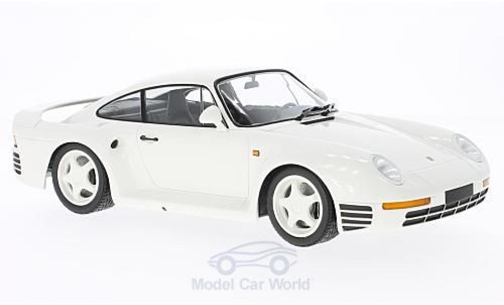 Porsche 959 1987 1/18 Minichamps white