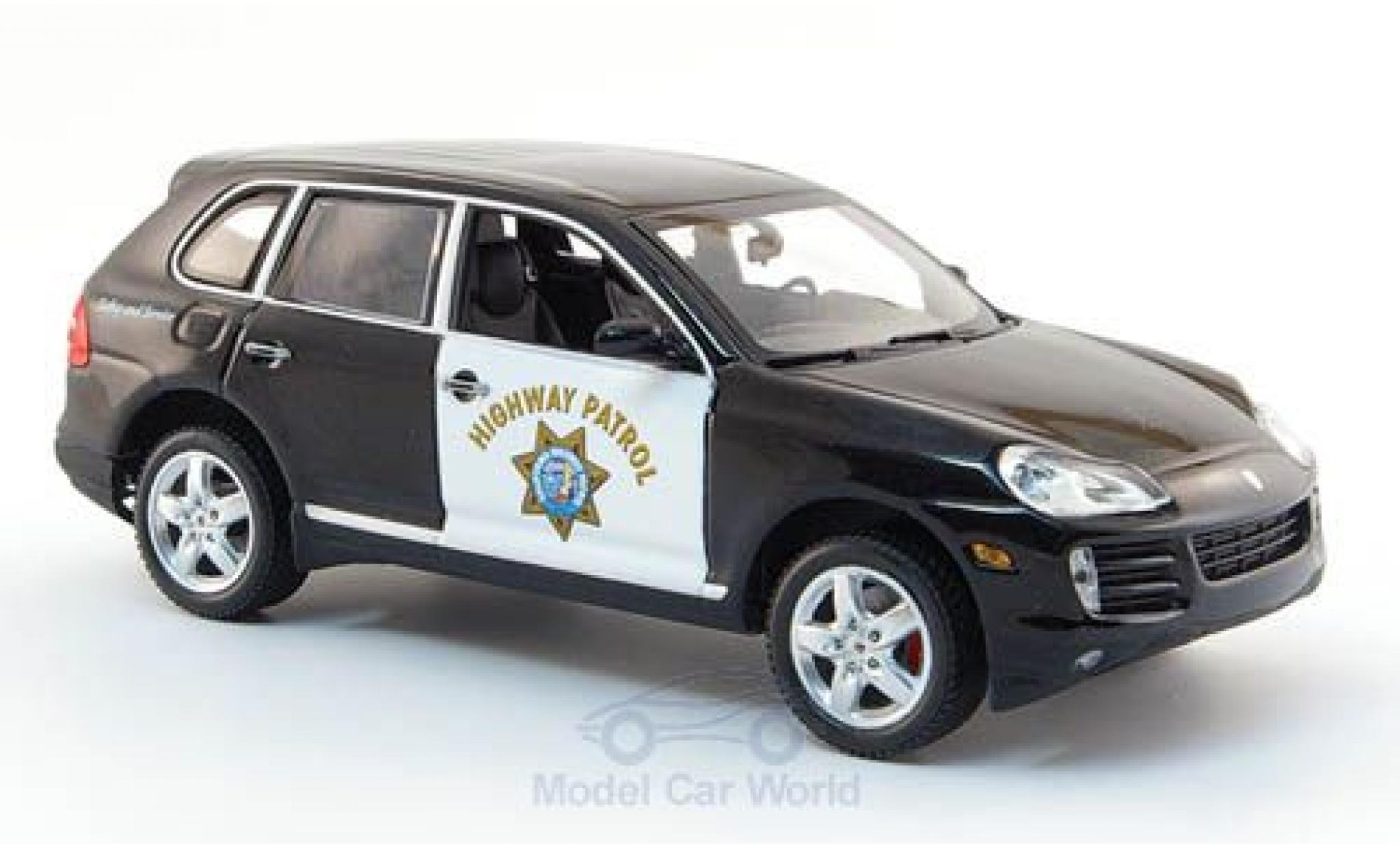 Porsche Cayenne S 1/43 Minichamps Highway Patrol 2007 Polizei