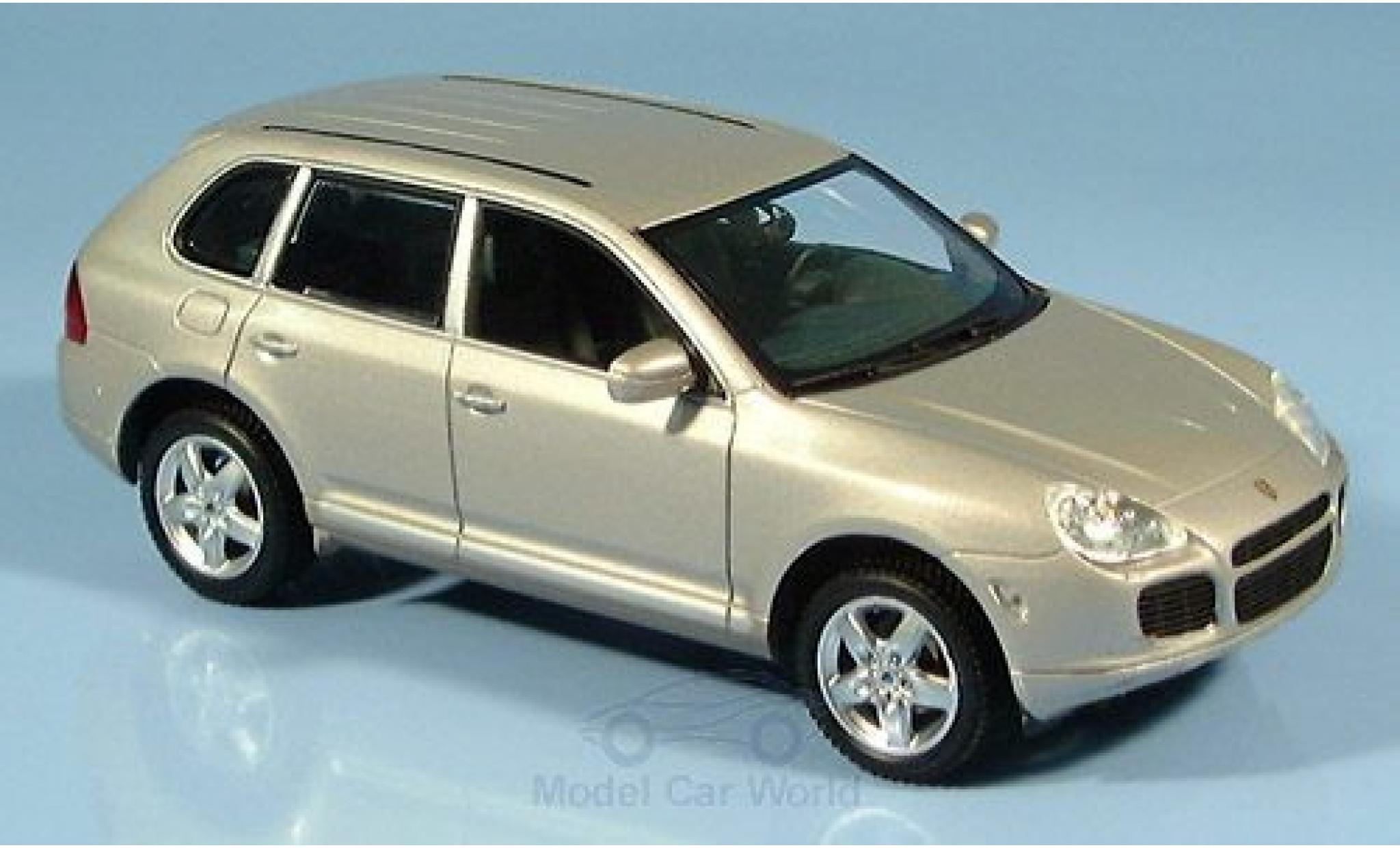 Porsche Cayenne 1/43 Minichamps Turbo metallic beige 2002