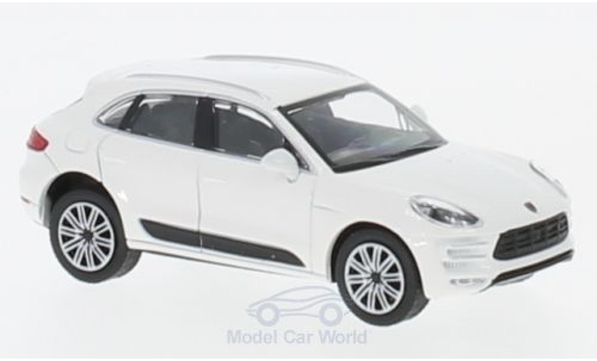 Porsche Macan Turbo 1/87 Minichamps blanche 2013