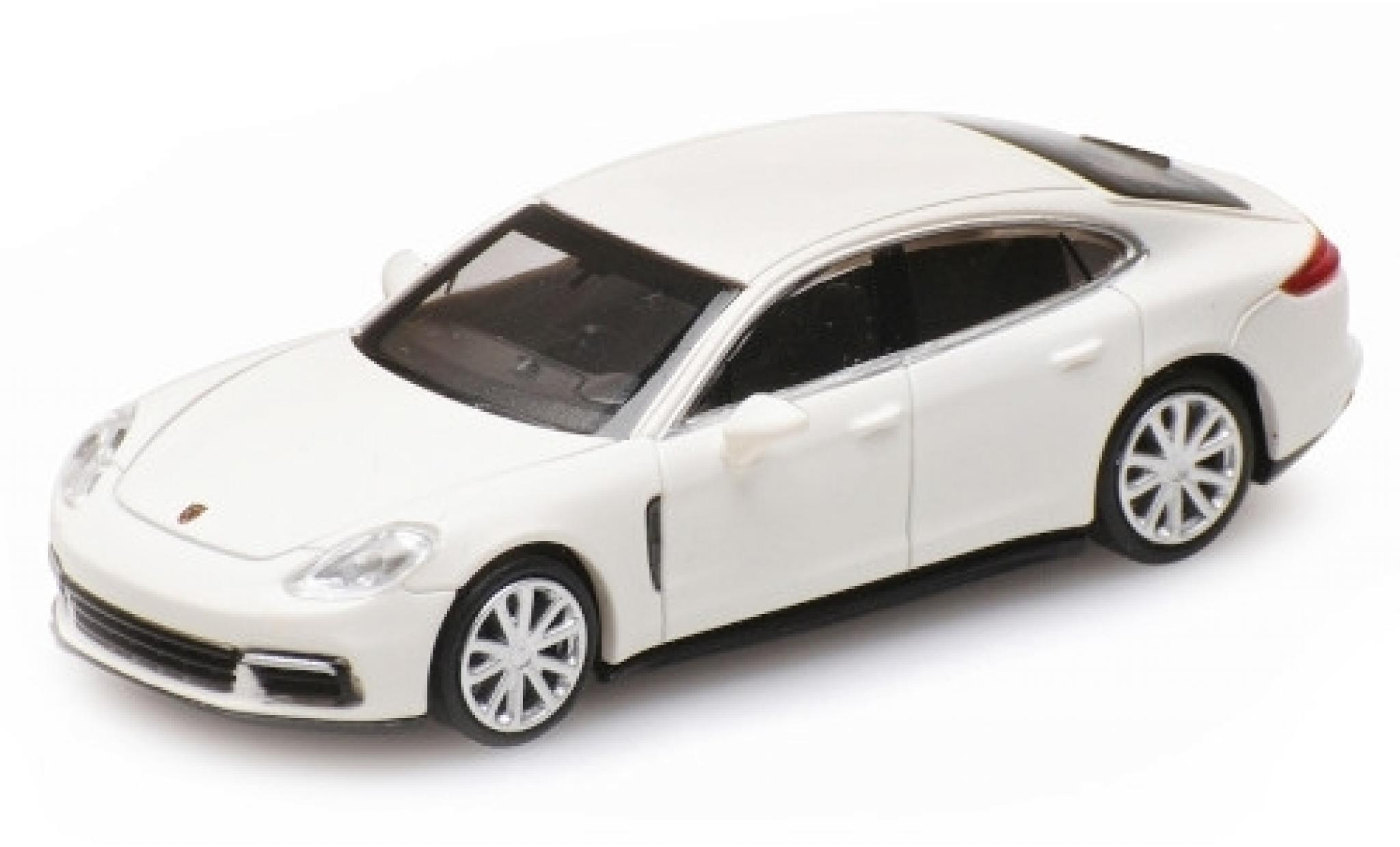 Porsche Panamera 4S 1/87 Minichamps blanche 2015