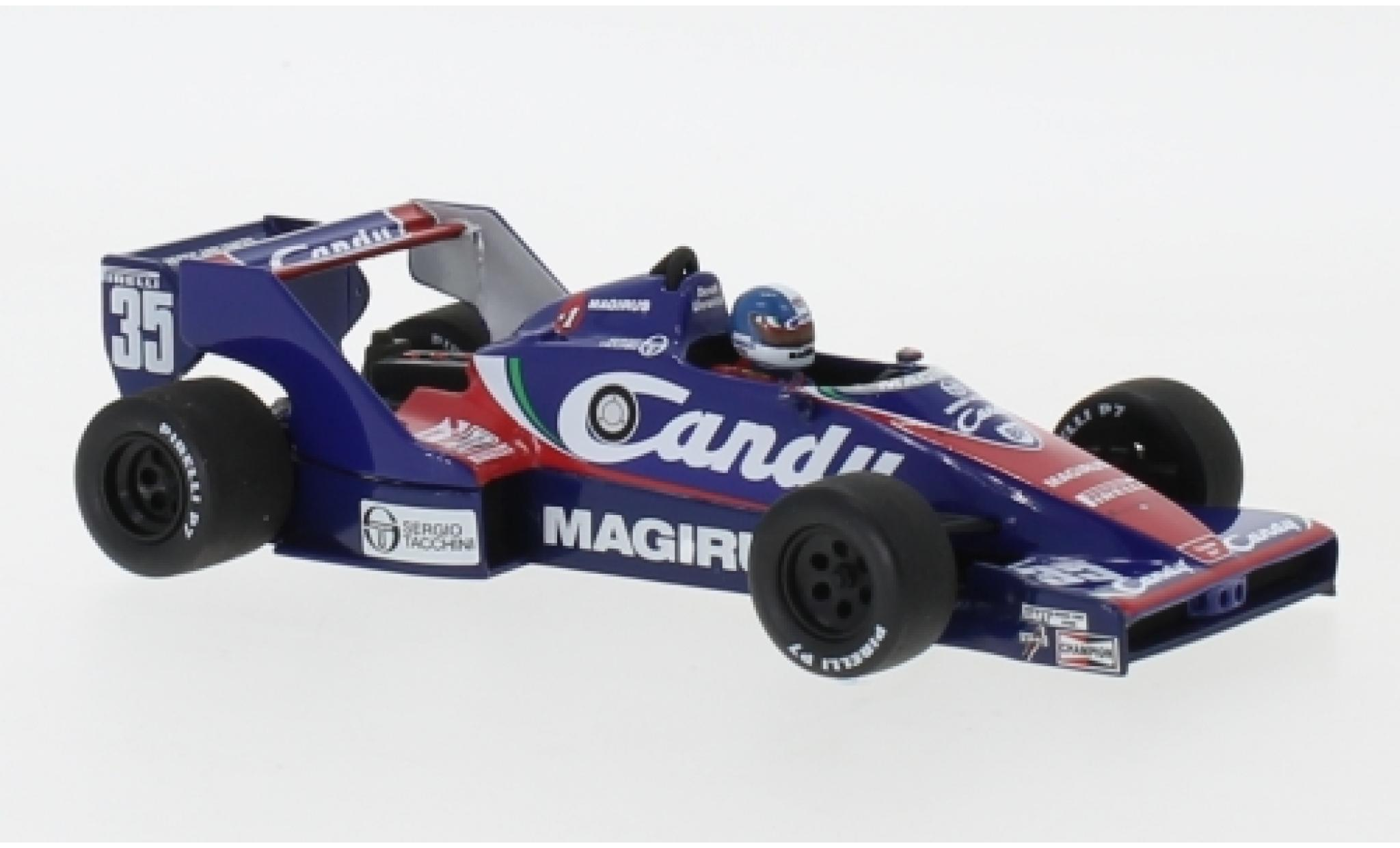 Toleman HART 1/43 Minichamps Hart TG183B No.35 Candy Formel 1 GP Niederlande 1983 D.Warwick