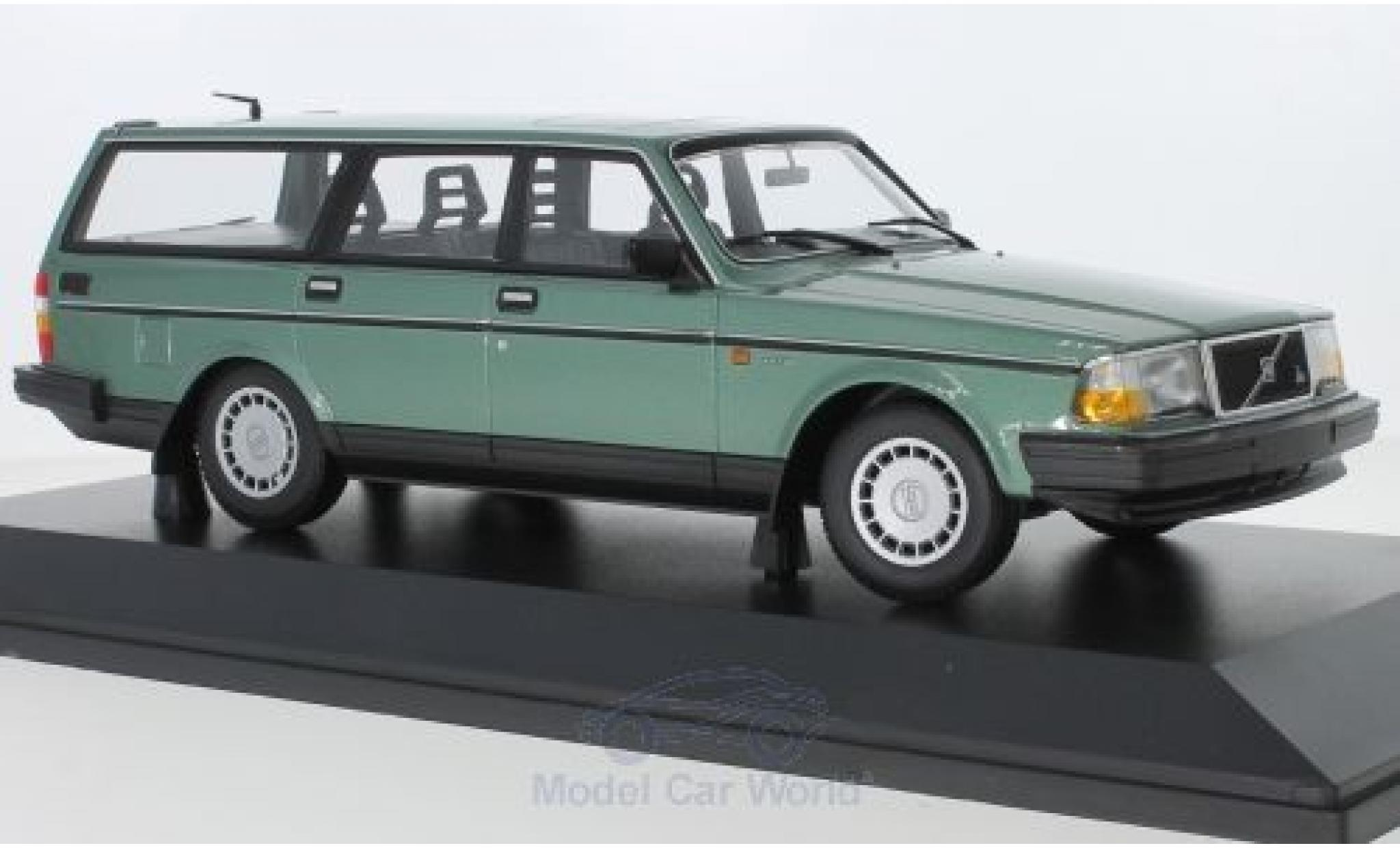 Volvo 240 1/18 Minichamps GL Break metallise verte 1986