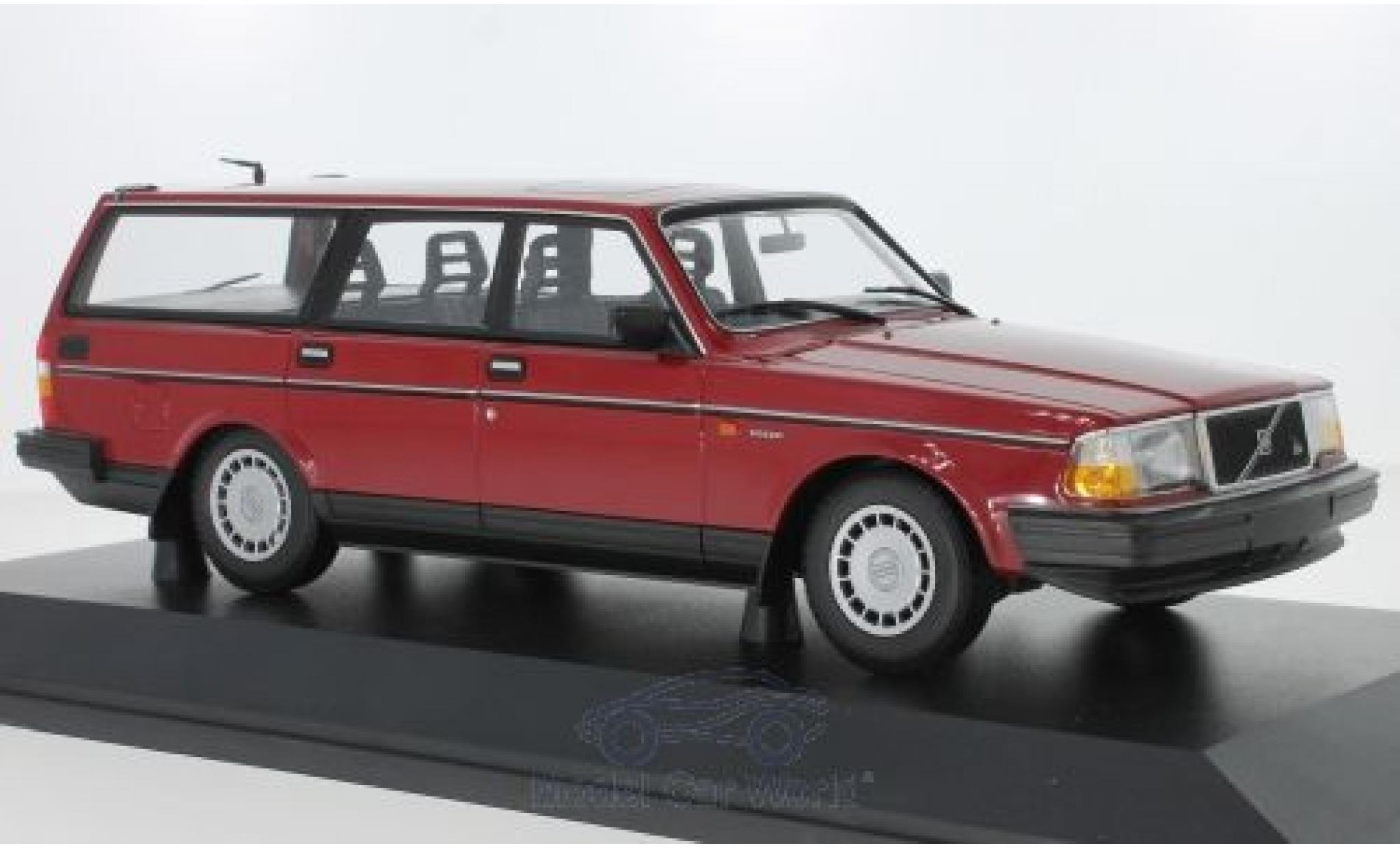 Volvo 240 1/18 Minichamps GL Break rouge 1986