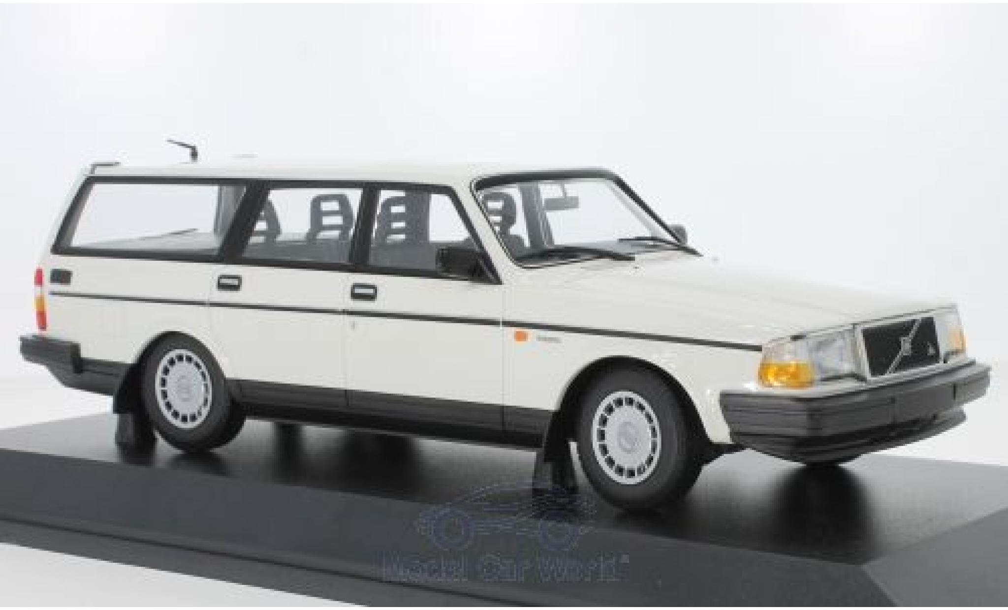 Volvo 240 1/18 Minichamps GL Break blanche 1986