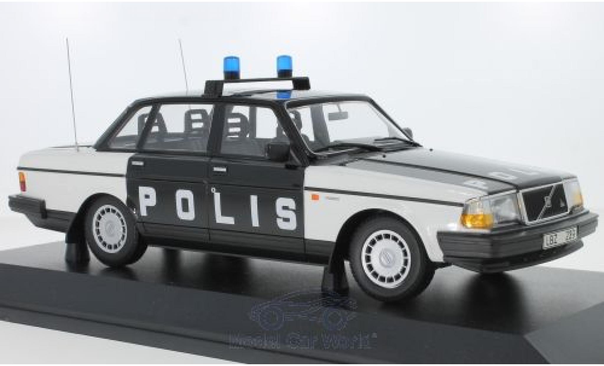 Volvo 240 1/18 Minichamps GL Polis Sweden 1986