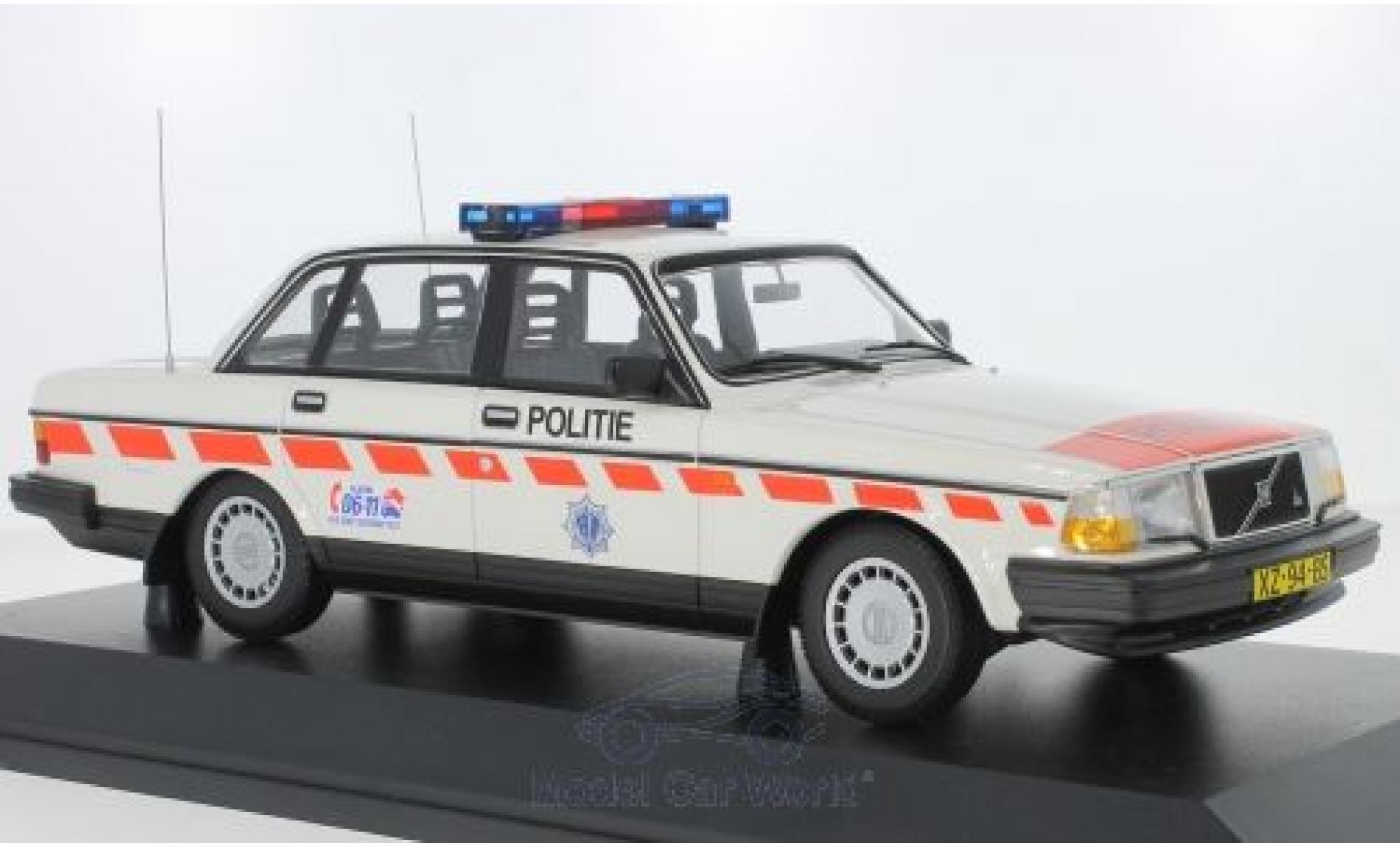 Volvo 240 1/18 Minichamps GL Politie (NL) 1986