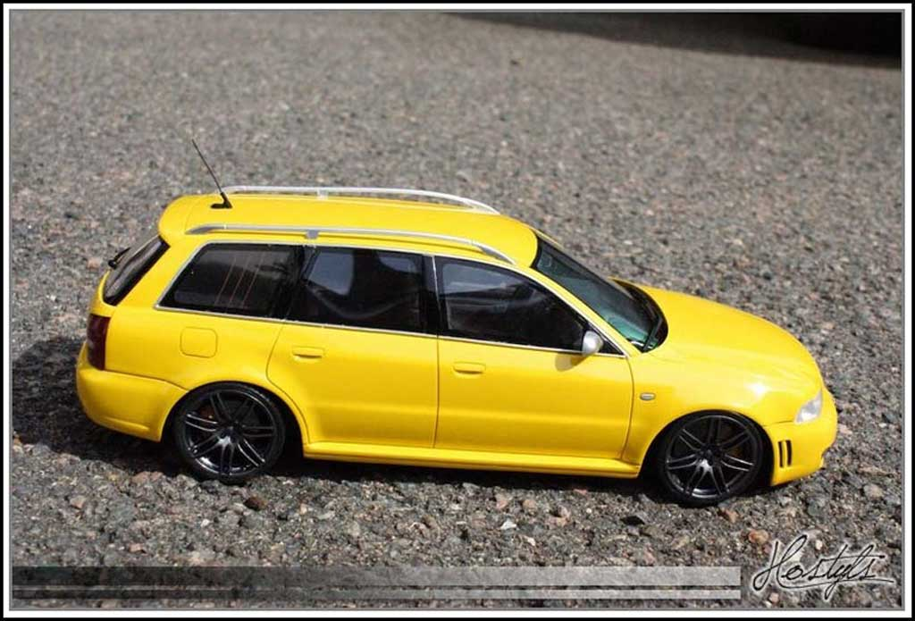 Audi RS4 1/18 Ottomobile B5 - Jantes 4 B7 anthracite