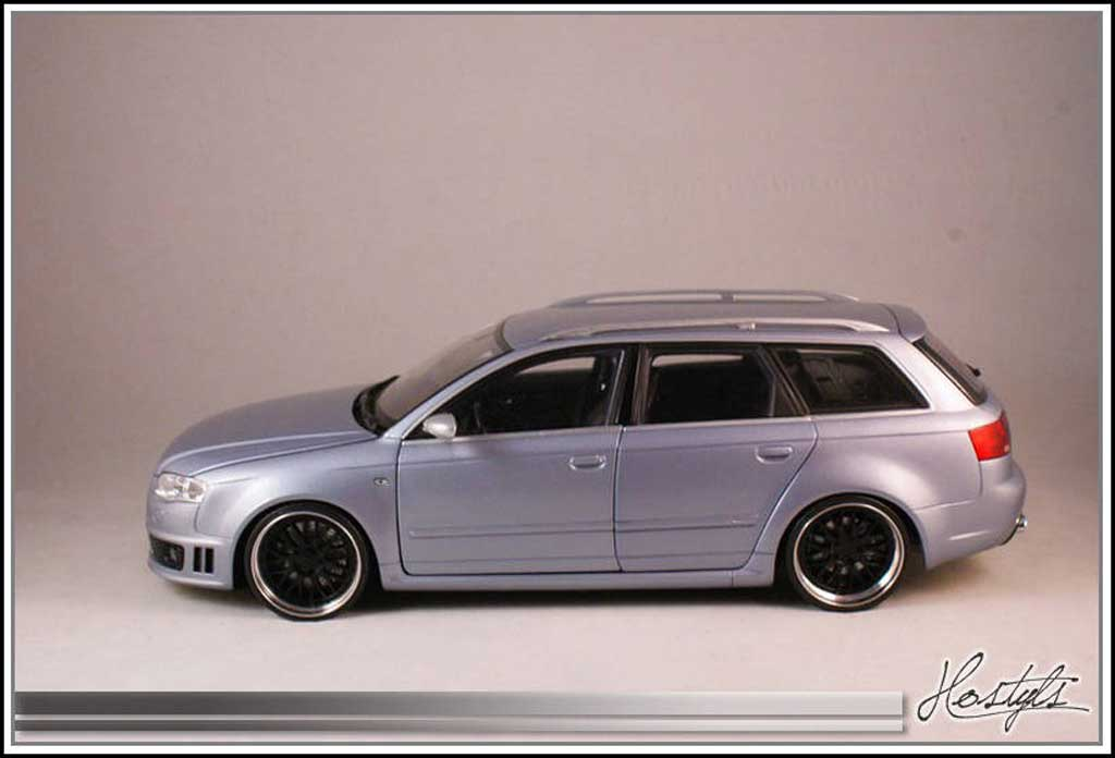 Audi RS4 1/18 Kyosho B7 on BBS