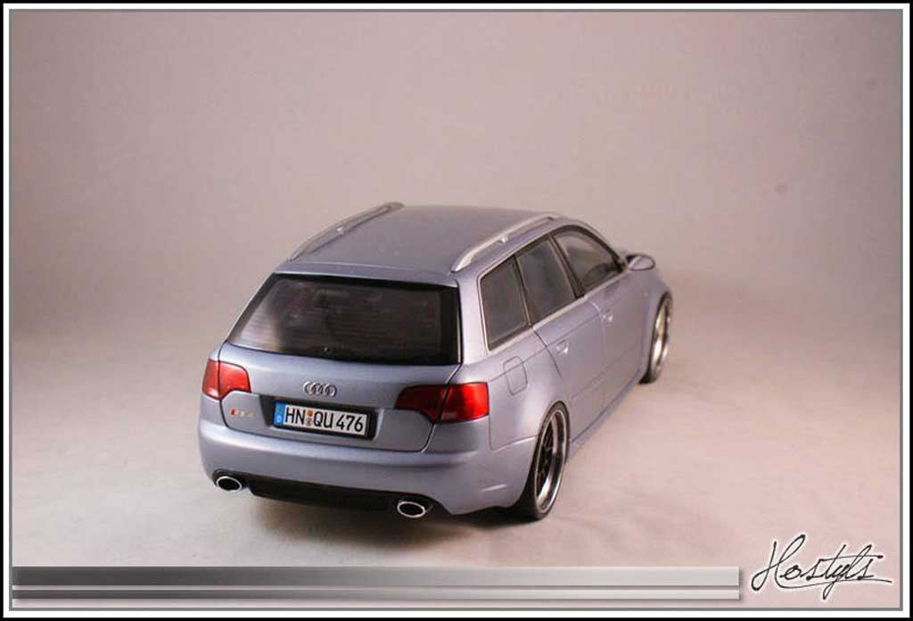 audi rs4 b7 on bbs kyosho modellauto 1 18 kaufen verkauf. Black Bedroom Furniture Sets. Home Design Ideas