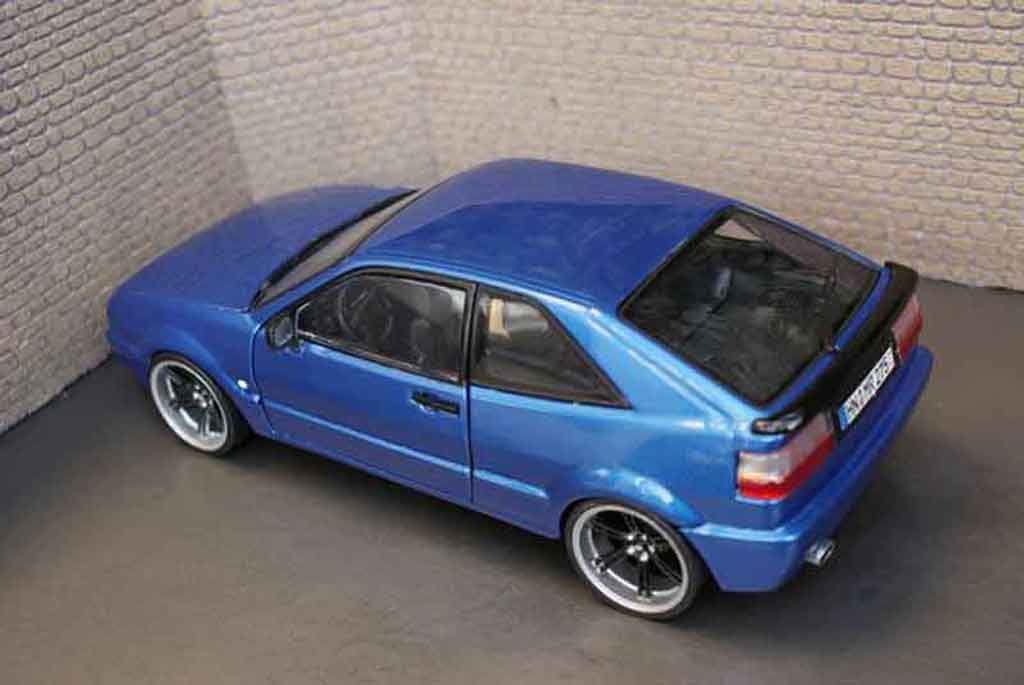 volkswagen corrado vr6 blau metallise revell modellauto 1 18 kaufen verkauf modellauto. Black Bedroom Furniture Sets. Home Design Ideas