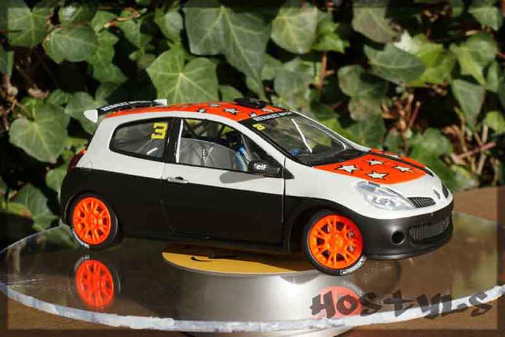 Renault Clio 3 RS 1/18 Solido cup rallye