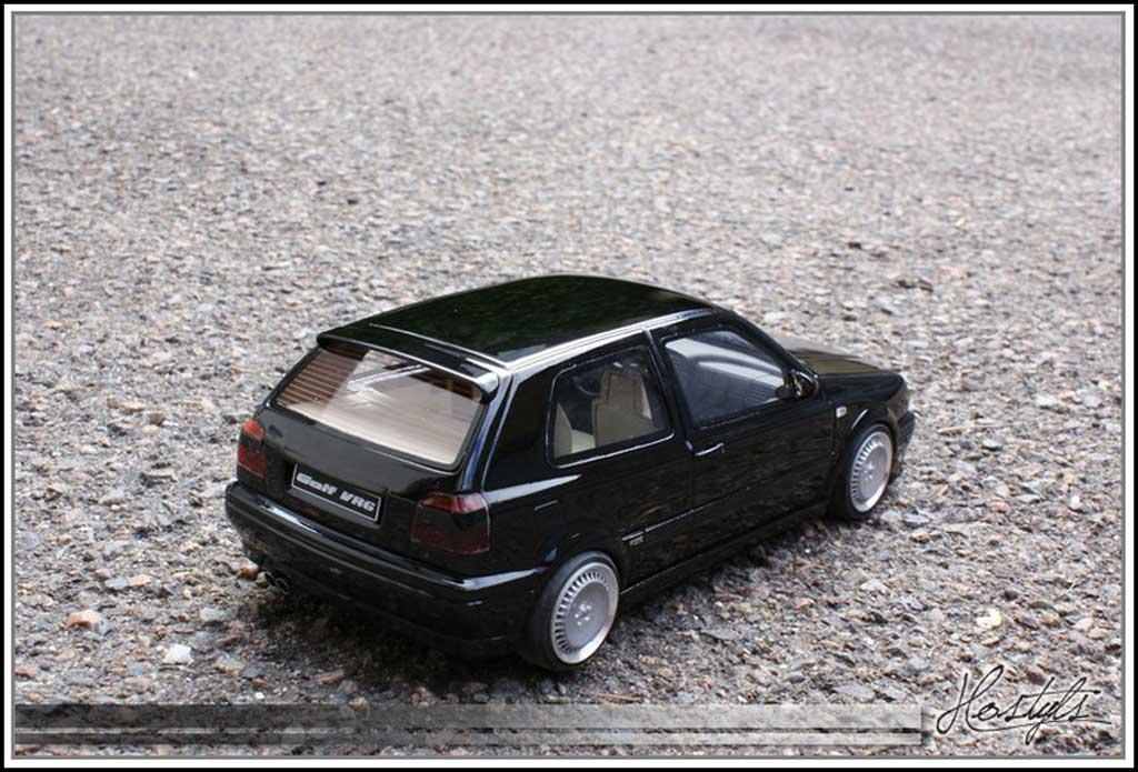 Volkswagen Golf III 1/18 Ottomobile VR6 black jantes schmidt