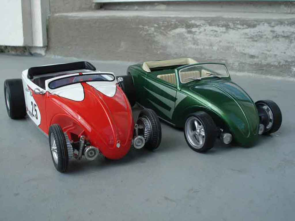 Volkswagen Kafer Hot Rod 1/18 Solido mats heb rod so-cal