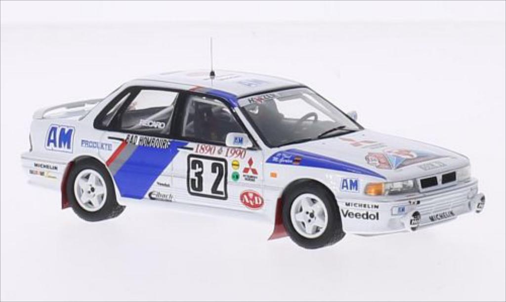 Mitsubishi Galant 1/43 IXO VR-4 EVO No.32 Rally Monte Carlo 1990 /P.Thul miniature