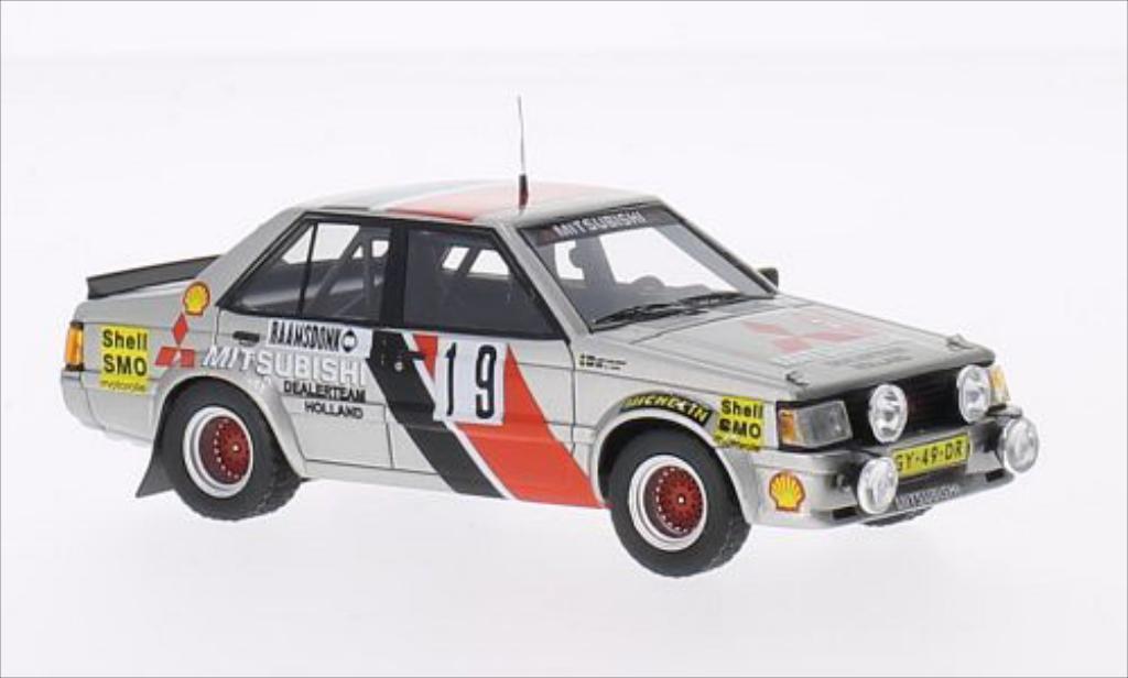 Mitsubishi Lancer 1/43 Neo 2000 Turbo No.19 Dealer Team Holland Rallye Monte-Carlo 1982 miniature
