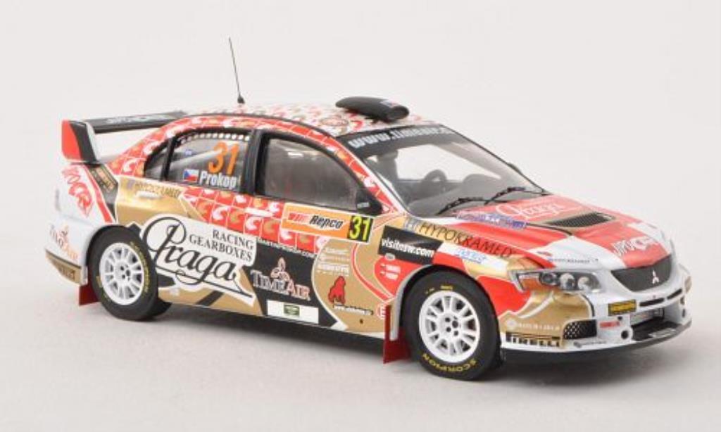 Mitsubishi Lancer 1/43 IXO Evo IX No.31 P-WRC Rally Australien 2009 /J.Tomanek miniature