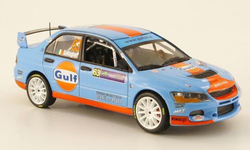 Mitsubishi Lancer 1/43 Vitesse Evo IX No.63 Gulf Sieger Rally Irland 2009 / P.Kiely miniature