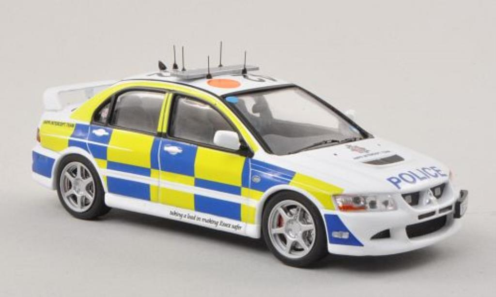 Mitsubishi Lancer 1/43 IXO Evo VIII Essex Police - ANPR Intercept Team Polizei (UK) 2007 miniature