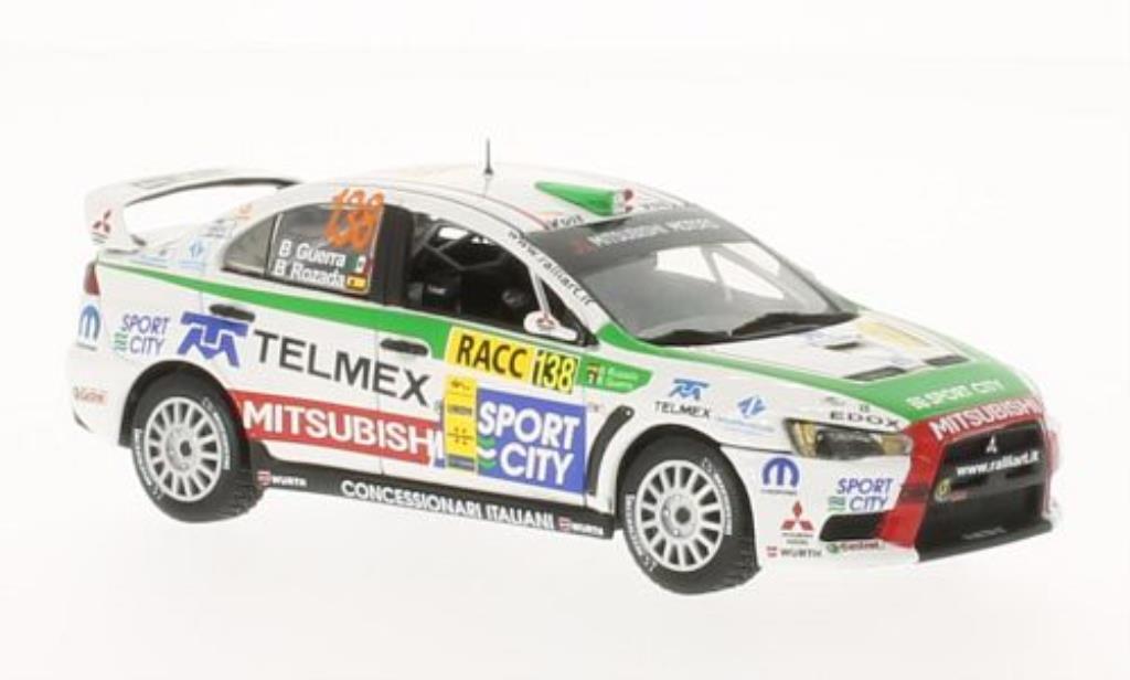 Mitsubishi Lancer 1/43 Vitesse Evolution X No.138 Sport City Rally Catalunya-Costa Daurada 2012 /B.Rozada miniature