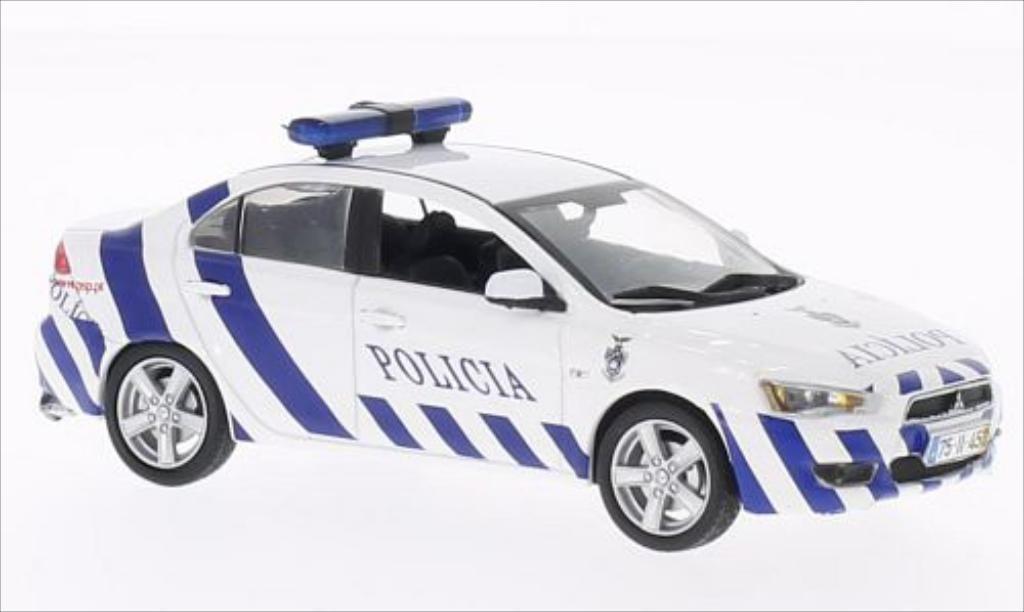 Mitsubishi Lancer 1/43 Vitesse Madeira Police miniature