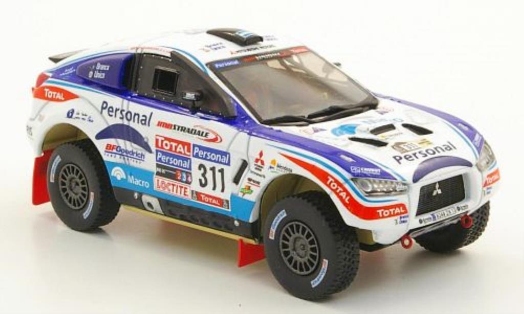 Mitsubishi Lancer 1/43 Vitesse No.311 Personal Rally Dakar 2010 / P.Maimon miniature
