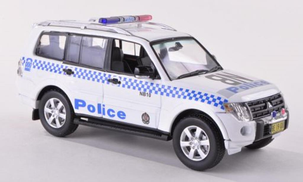 mitsubishi pajero australian nsw police vitesse modellauto 1 43 kaufen verkauf modellauto. Black Bedroom Furniture Sets. Home Design Ideas