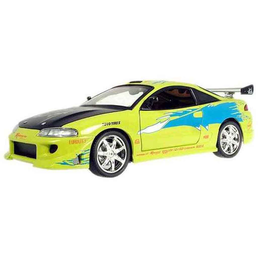 Mitsubishi Eclipse miniature fast and furious 1 Ertl 1/18 ...