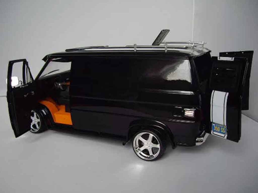 Chevrolet Van 1/18 Highway 61 black