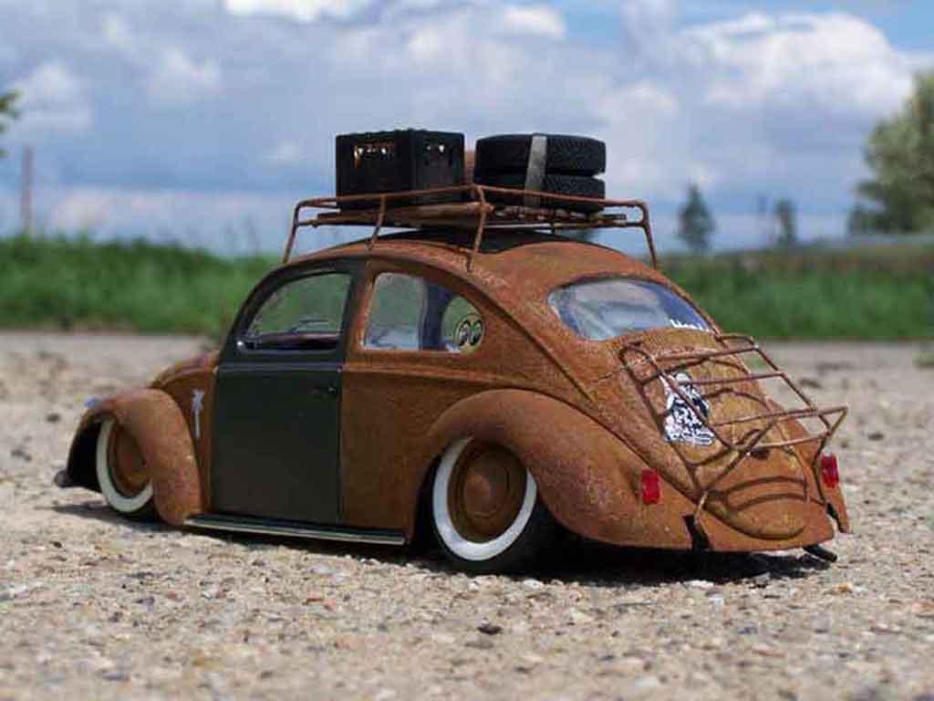 Volkswagen Kafer 1/18 Burago coccinelle kafer ratte