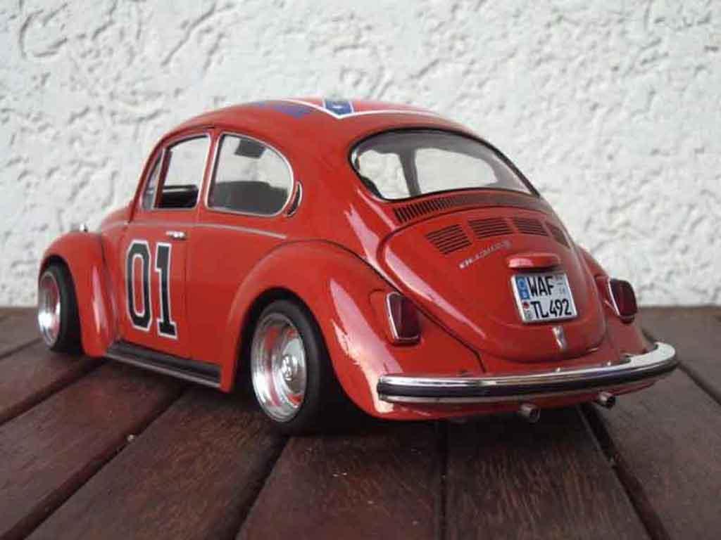 volkswagen kafer coccinelle rot burago modellauto 1 18 kaufen verkauf modellauto online. Black Bedroom Furniture Sets. Home Design Ideas