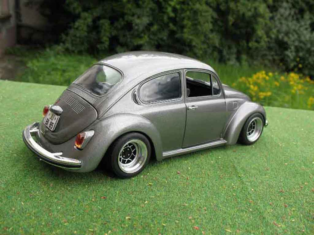 Volkswagen Kafer 1/18 Solido coxinelle grey jantes ats