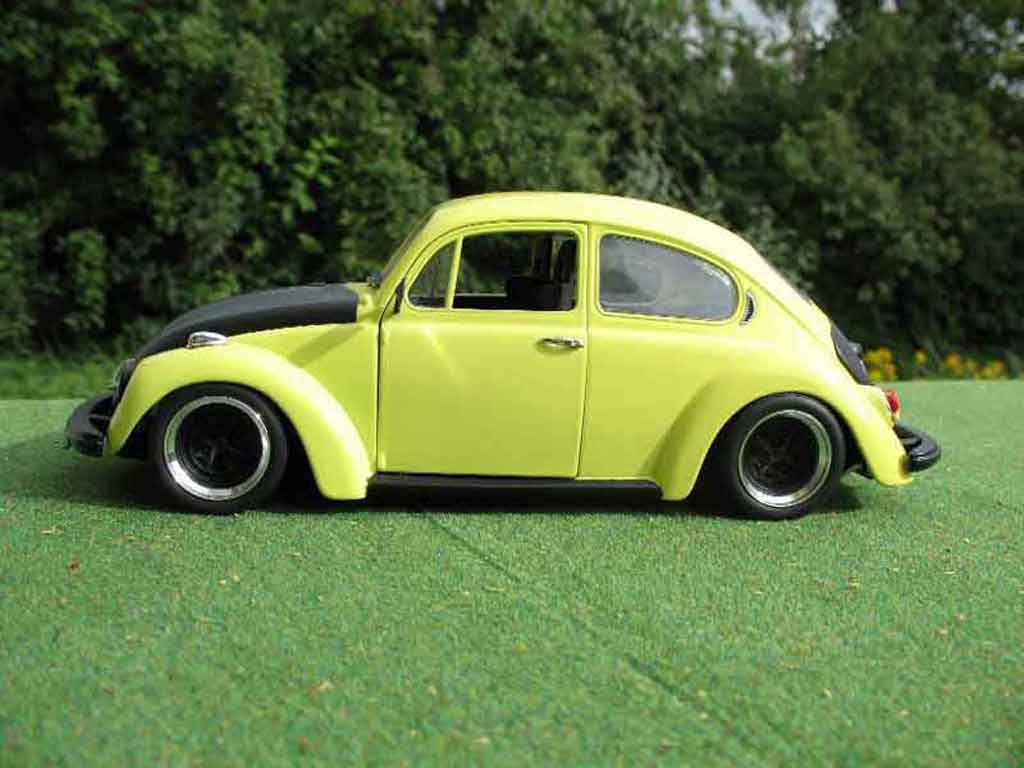 Volkswagen Kafer 1/18 Burago coxinelle racer