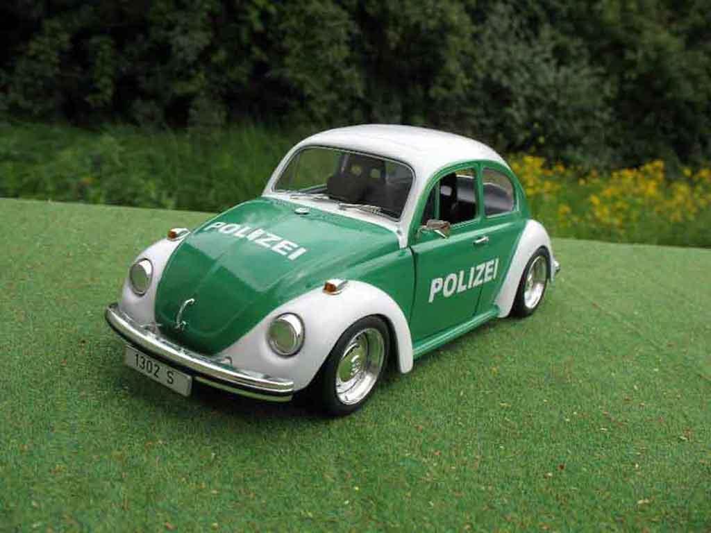 Volkswagen Kafer 1/18 Solido coxinelle polizei / police