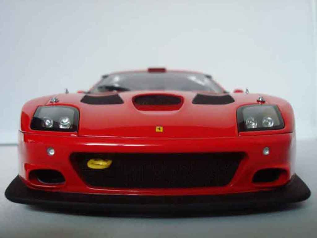 ferrari 575 gtc rot kyosho modellauto 1 18 kaufen verkauf modellauto online. Black Bedroom Furniture Sets. Home Design Ideas