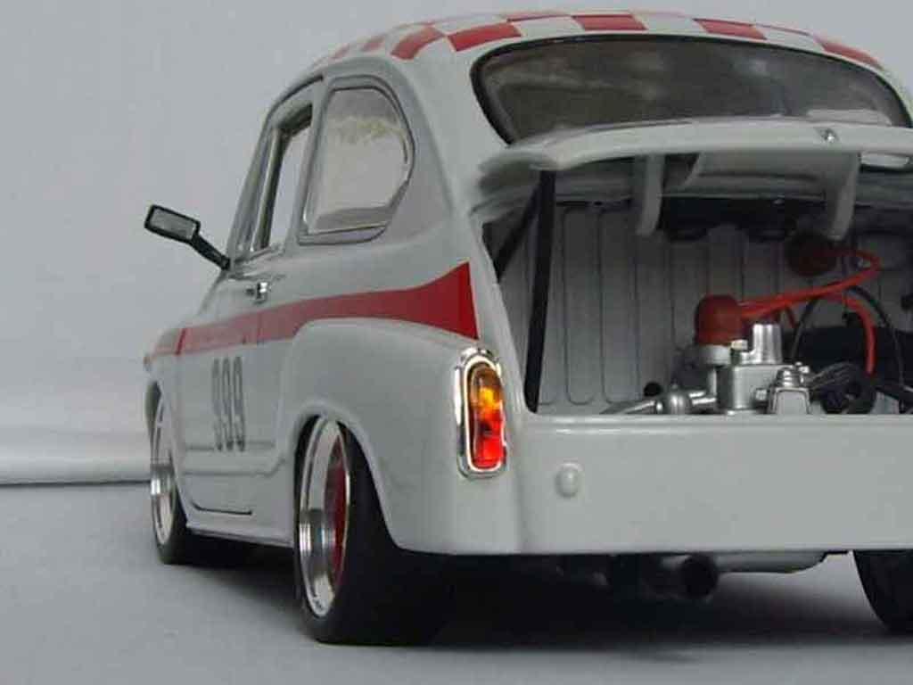Fiat 850 1/18 Revell abarth 1000 tc